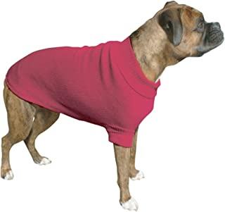 Vo-Toys Doggie Duds Traditional Sweater Fuchsia, XX-Small