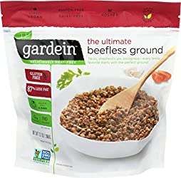 Gardein Ultimate Beefless Ground Meatless Protein Packed Beef Substitute, Gluten Free, Non-GMO Proje
