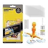 zeBrush Windshield Repair Kit, Car Window Glass Repair Tool for Quick Fix Windshield Chips, Cracks, Bulls-Eye, Star-Shaped and Half-Moon Cracks
