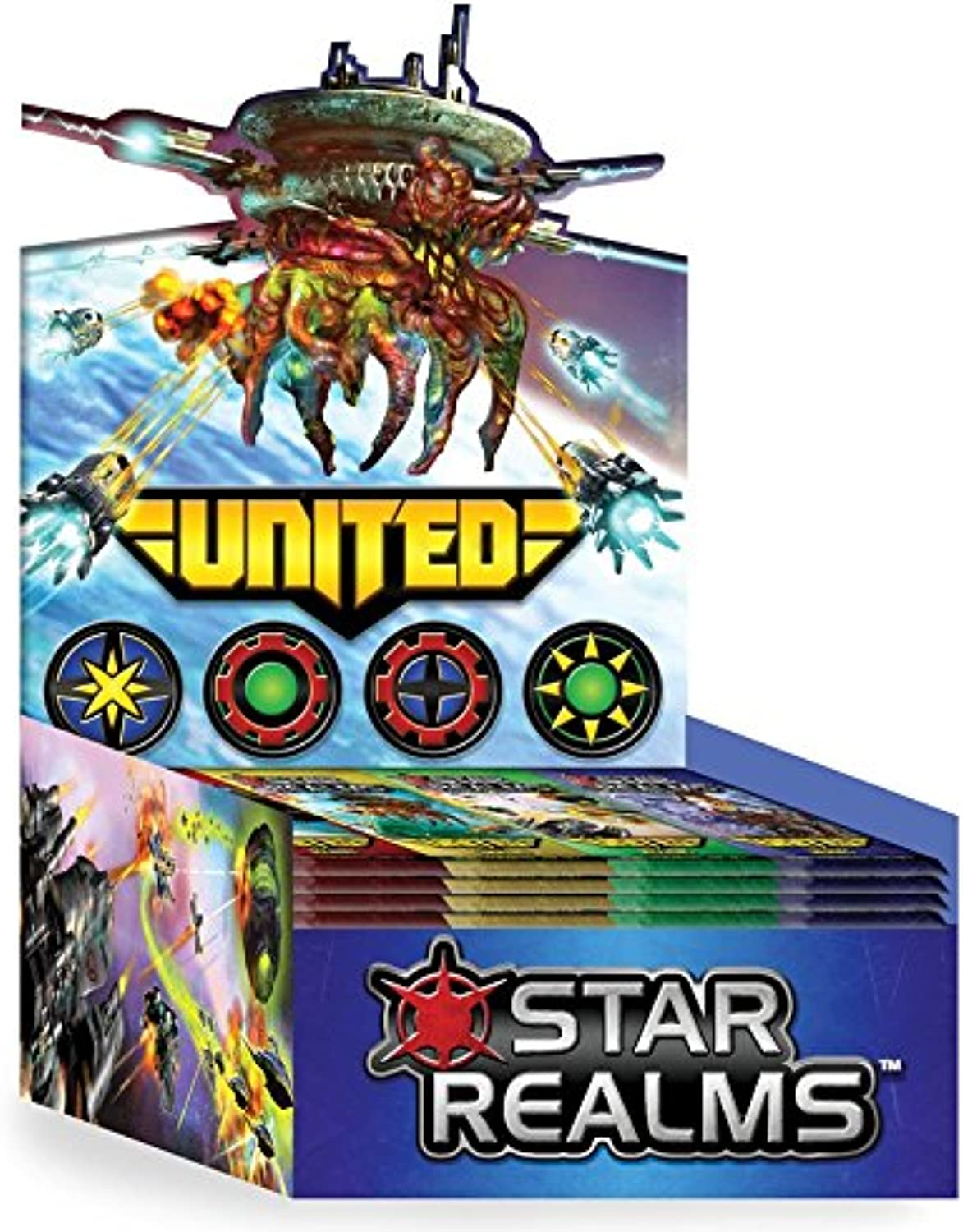 White Wizard Games WWG018 Star Realms United Display Card Games