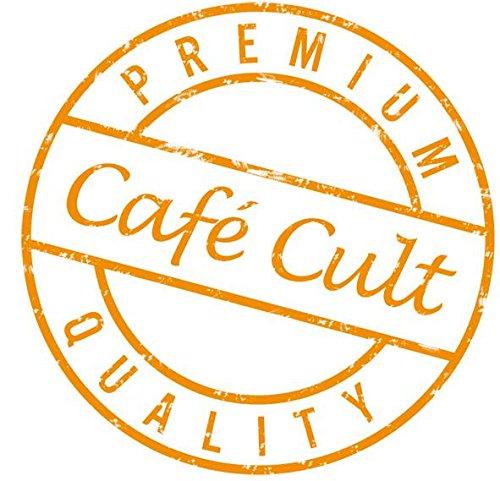 1kg - Café Cult - Mandel-Kirsch-Schoko - aromatisierter Röstkaffee - ganze Bohnen