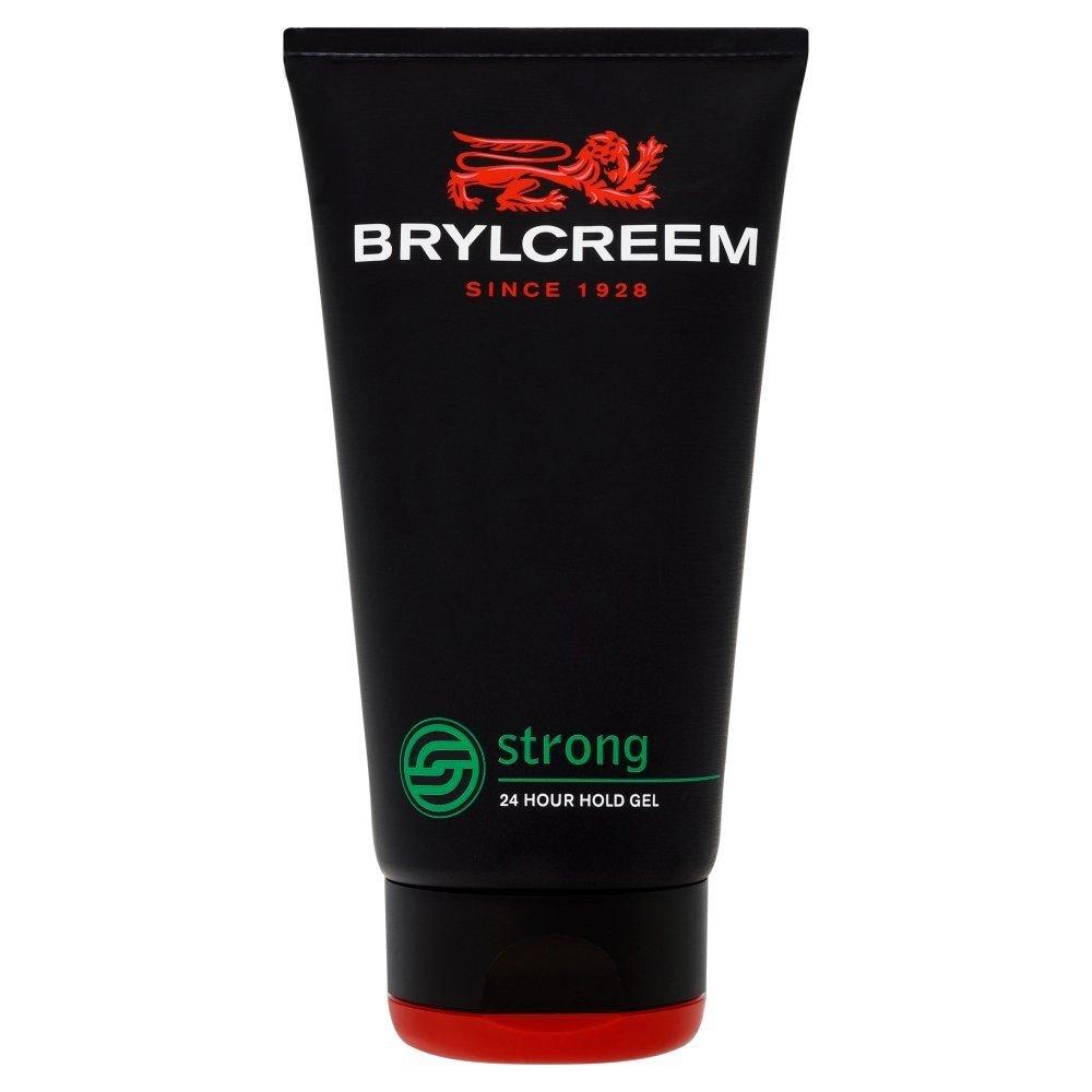落花生年土砂降りBrylcreem Strong 24 Hour Hold Gel (150ml) Brylcreem強い24時間の保持ゲル( 150ミリリットル)