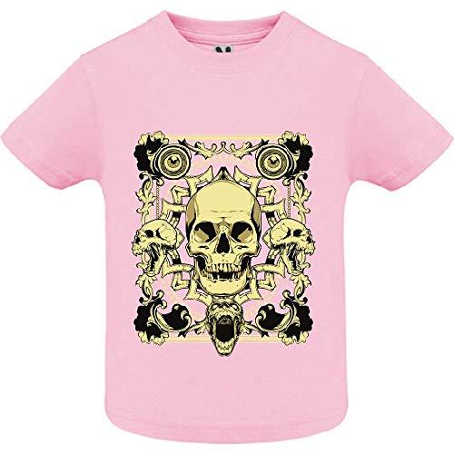 LookMyKase T-Shirt - Last Smile - Bébé Fille - Rose - 2ans