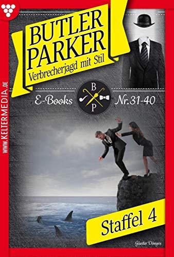 Butler Parker Staffel 4 – Kriminalroman: E-Book 31-40 (Butler Parker Staffel Staffel)