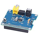 Módulo de tarjeta de sonido digital DiGi +, placa de expansión HIFI de placa de chip para Raspberry Pi I2S SPDIF