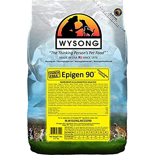 Wysong Epigen 90 Starch Free Canine Feline Dry Formula Dog Cat Food (WDCFE905)