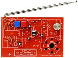 Image: Elenco FM Radio Kit | Build this kit to assemble a monophonic FM receiver (88-108mhz) with electronic auto-scan