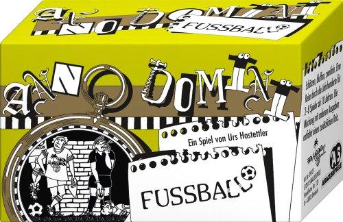 ABACUSSPIELE 09121 - Anno Domini - Fussball, Quizspiel, Schätzspiel, Kartenspiel