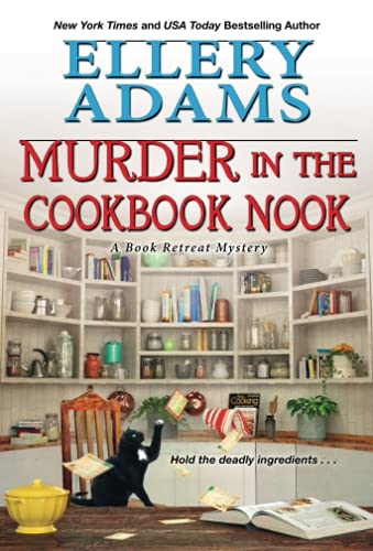 Murder in the Cookbook Nook: A Southern Culinary Cozy Mystery for Book Lovers (A Book Retreat Mystery)
