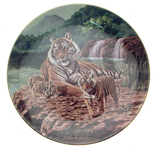 Compton & Woodhouse Wedgwood The Sumatra-Tiger by The Waters Edge Big Cat Teller cp2366