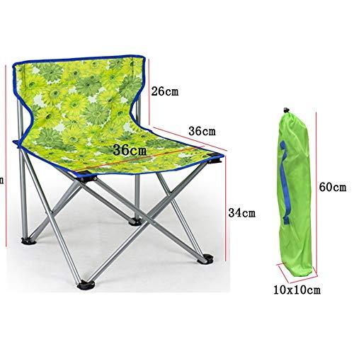 Axdwfd Chaise longue Home Life Leisure Chair, Pliage d'extérieur, Camping Portable, Salon de plage, Pêche, Chaises (Couleur : Burst, taille : 60 cm)