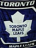 NHL Toronto Maple Leafs Soft Plush 60'x80' Throw Blanket
