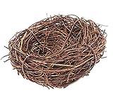 Bird Nest Home Handmade Vine Zweig Natur Handwerk Urlaub für