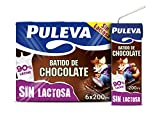 Puleva Batido de Chocolate Sin Lactosa - Pack de 6 x 200 ml - Total: 1200 ml