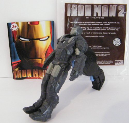 Iron Man 2 Flip N' Fly War Machine Action Figure Burger King Kids Meal Toy