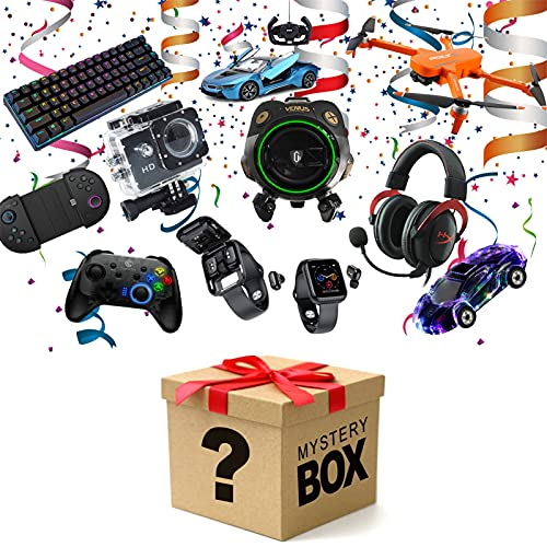 LLYA Artículo de Misterio, Caja de Suerte Contiene Cientos de Productos y Regalos inesperados: Todos los artículos Son nuevos: ¡Este es un Buen Regalo!