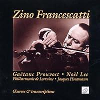 Zino Francescatti: Original Works by Gaetane Prouvost