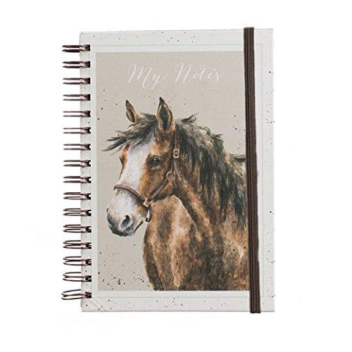 Wrendale, gebundenen A5Spirale Gebundenes Notizbuch–Pferd