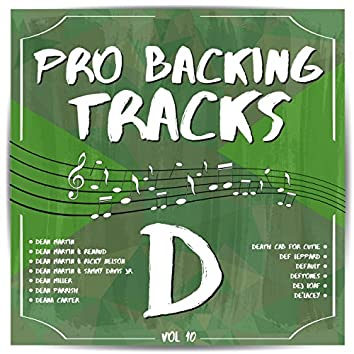 Pro Backing Tracks D, Vol.10
