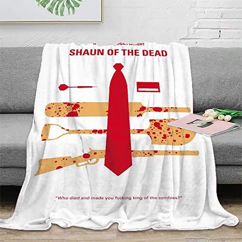 My Shaun of The Dead… Manta de fotos ligera, súper suave, manta de cama de 150 x 200 cm