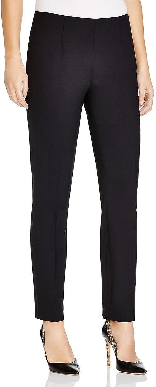 Elie Tahari Womens Wool Blend Flat Front Skinny Pants