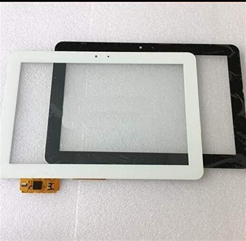 Kit de reemplazo de pantalla Sensor de cristal 10.1 '' Tablet PC en forma for el BQ Edison 3 Quad Core digitalizador de pantalla táctil kit de reparación de pantalla de repuesto ( Color : Black )