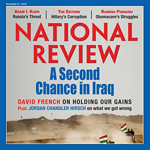 National Review - November 21, 2016 audiobook cover art
