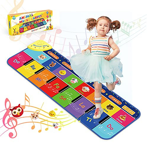 BOXYUEIN Toys for 1-5 Year Old Boys Girls, Dance Mat Baby Toys 0-6 Months...