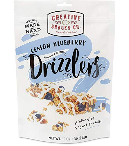 Creative Snacks Granola Lemon Blueberry Pack of Max 54% OFF Drizzlers Kansas City Mall 10 Oz