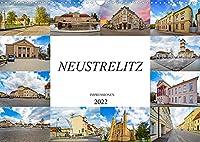 Neustrelitz Impressionen (Wandkalender 2022 DIN A3 quer): Zwoelf einmalige Bilder der Residenzstadt Neustrelitz (Monatskalender, 14 Seiten )