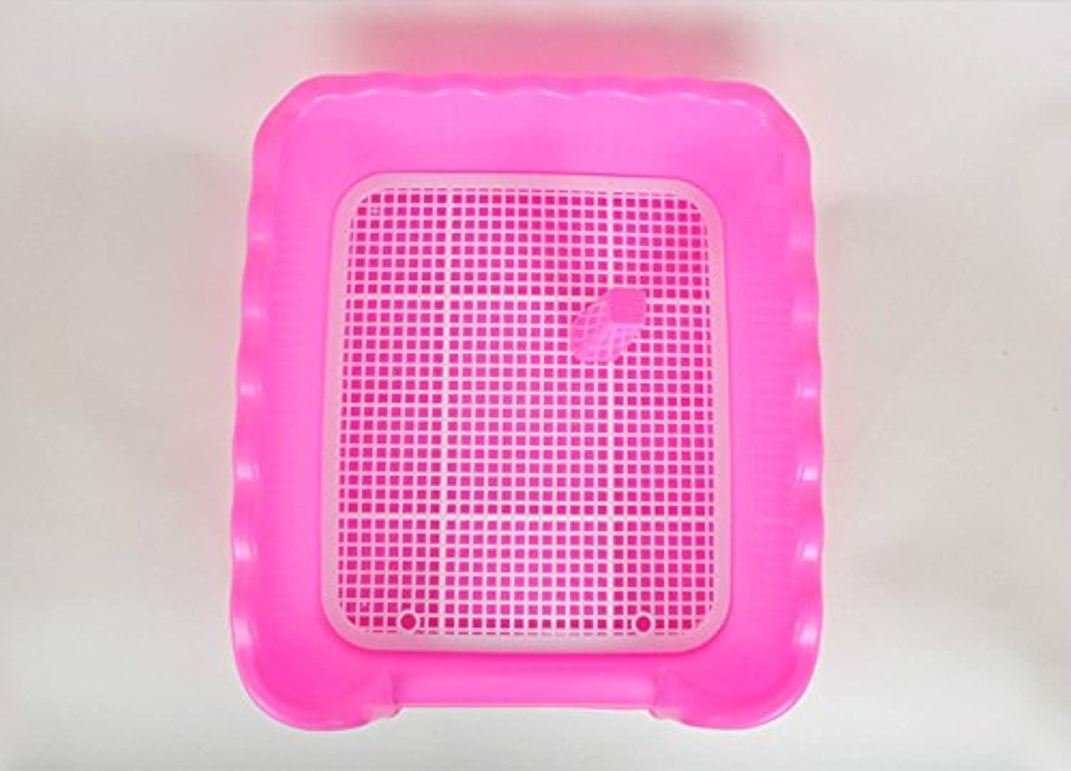 Pet Online dog supplies dog toilet fence toilet dog to the standard small, pink, Small