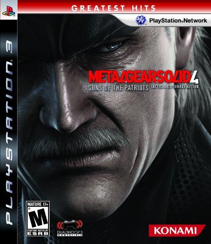 Konami Metal Gear Solid 4 - Juego (PS3)