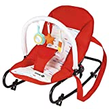 Safety 1st Koala Transat Bebe Inclinable, Red Lines