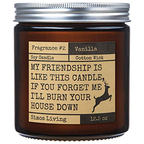 (43% OFF) Vanilla Scented Friendship Candle $12.59 Deal
