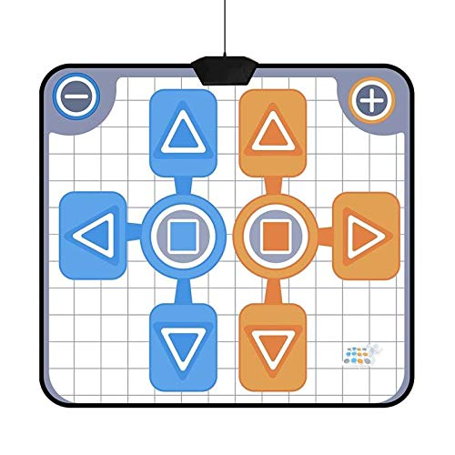 Wgwioo Dance Mat, Double Person Dancing Pad Non-Slip Dancing Blanket for Nintendo Wii Console Game, for Office Workers,Housewives,Students