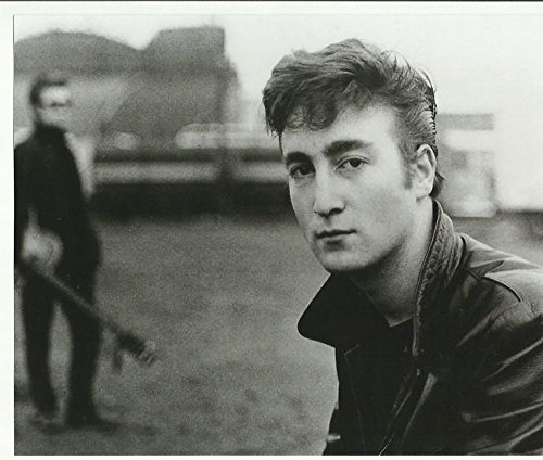 The Beatles Young John Lennon 8 x 10 Inches close up Photo