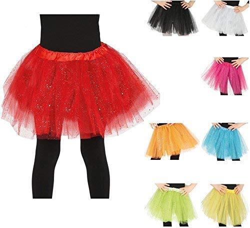 Fiestas Guirca Tutu mit Glitter für Mädchen