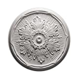 Rosetón de techo de poliétano 1.022, diámetro 52,5 cm