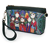 ALIKEEY Package Brand Messenger Totes,Plegables Shoppers Impermeables Clutch Comprar Negro Medio Hecho