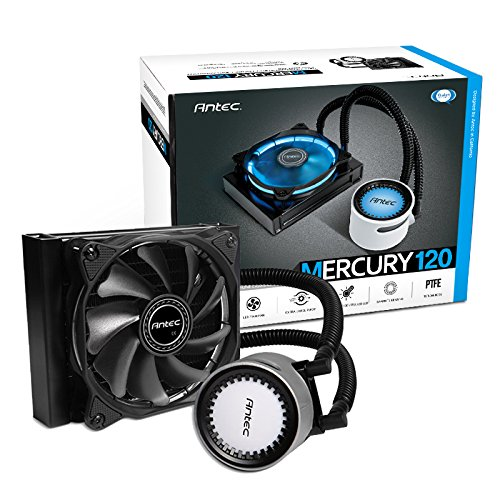 Antec Mercury CPUクーラー (394x119x27mm) AMD Ryzen AM4対応の水冷一体型ユニット Mercury 360
