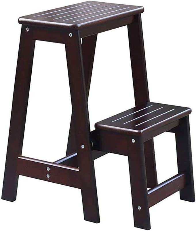 SMLZV Beauty products Kitchen Wooden Ladders Small Folding Max 67% OFF Foot Step Stools Wood