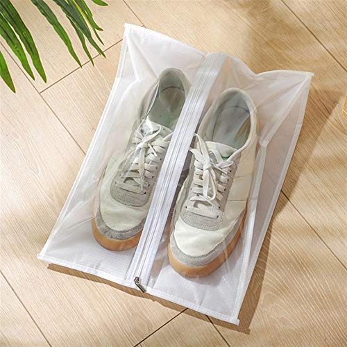 hgkl Bolsas para Zapatos Viaje Bolsa de Zapatos Impermeables de 15 Piezas para Viajes Bolsa de Almacenamiento de Zapatos portátil Organice Bolsa de Cremallera no Tejida Bolsa Dolap Organizador