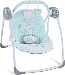 Little Angel Baby Deluxe Electric portable Automatic Swing, Set of 1