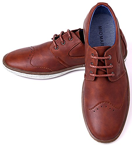 Mio Marino Mens Dress Shoes – Fashion Casual Oxford Shoes For Men