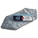 Soggy Doggy Super Shammy Grey One Size 31' x 14' Microfiber Chenille Dog Towel with Hand Pockets