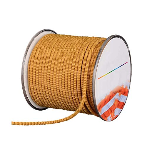 GUOHUA Polypropylene Rope Braided Multi-Strand Rope-Cat Scratch Rope/Garden Strapping Suitable for Purposes Camping Tents 2.5Mm Diameter 10M