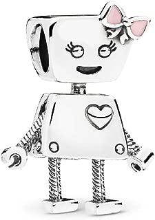 Best pandora robot charm Reviews