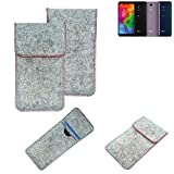 K-S-Trade® Protective Felt Case Compatible With LG