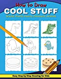 How to Draw Cool Stuff: Simple & Easy Step-by-Step Drawing for Kids | Jumbo Edition | Sky Blue