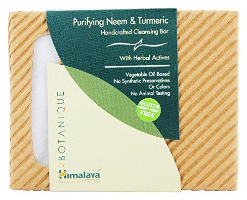 Himalaya Botanique Purifying Antibacterial Soaps (Neem, 1-Pack)